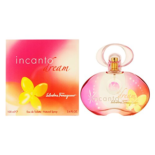 Incanto Dream By Salvatore Ferragamo For Women. Eau De Toilette Spray 3.4 Ounces
