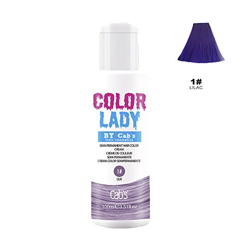 semi permanent hair dye lilac - 4