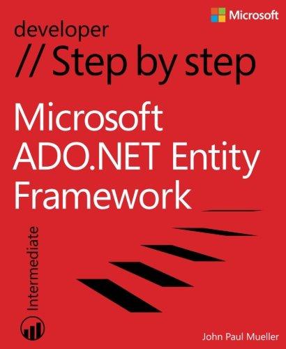 Microsoft ADO.NET Entity Framework Step by Step (Step by Step Developer) by Brand: Microsoft Press