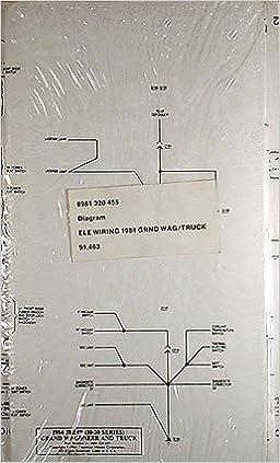1984 Jeep Grand Wagoneer & J-Truck Original Wiring Diagram ...  Amazon.com