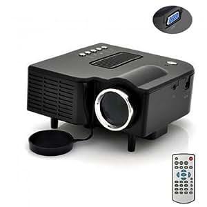 PROYECTOR LED MINI DIGITAL CON ENTRADAS: HDMI, VGA, AV, USB, SD