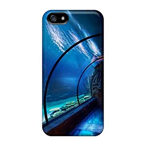NaO4650NbPD Anti-scratch Case Cover AnnaTwins Protective Underwater Tunnel Case For Iphone 5/5s