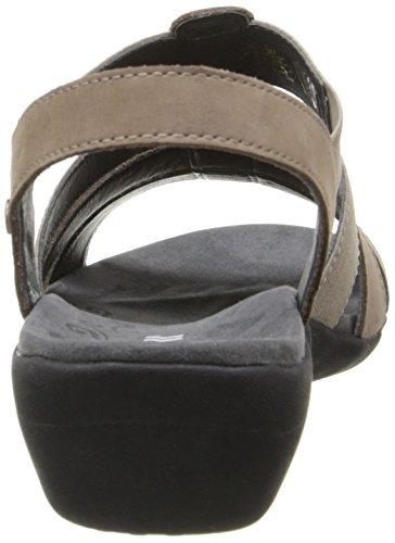 ROMIKA 36 US Nubuck 05 Sandal Palma M 5 BR Dress 6 Nubuck Black Taupe Women's rwqZx0WB7r