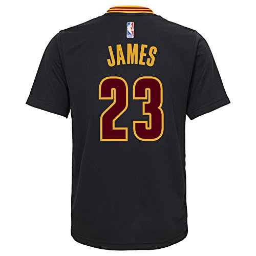 5f8d98b62 LeBron James Cleveland Cavaliers Adidas Youth Replica Black Alternate  Jersey outlet