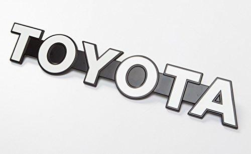 Genuine Toyota Emblem for Custom DIY Satoshi Grille Mod LAND CRUISER (BJ40 & FJ40) BJ70 Landcruiser