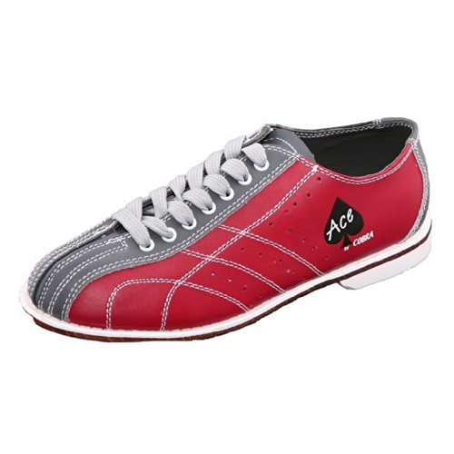 Bowlerstore Ladies Cobra Bowling Shoes (9 M US, Red/Gray)