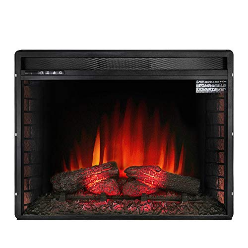 electric fireplace insert freestanding