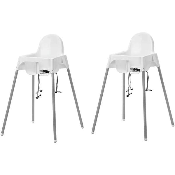 Ikea Bandeja para Sillín de Trona, Blanco, 44x42x6 cm: IKEA ...