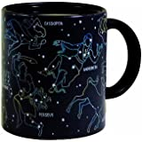 The Constellation Mug - Heat Sensitive Color Changing Coffee Cup - Constellations Magically Appear