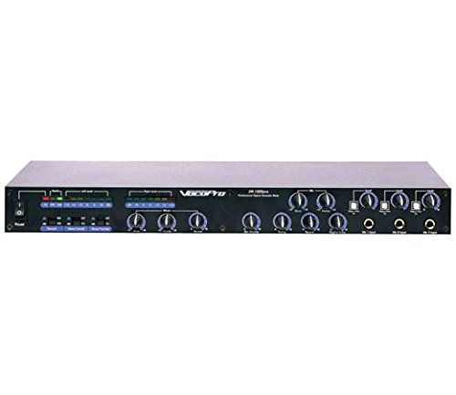 VocoPro DA1000 PRO 3 Mic Digital Echo Mixer