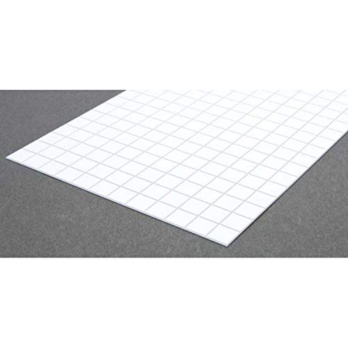 Evergreen Scale Models Square Tile 1/2