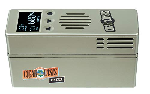 Cigar Oasis Excel 3.0 Electronic Humidifier with Refill Cartridge Bundle by Cigar Oasis (Image #1)