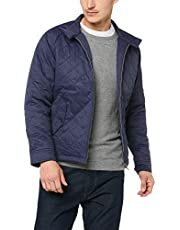 Ben Sherman Men's Diamond Quilt Jacket