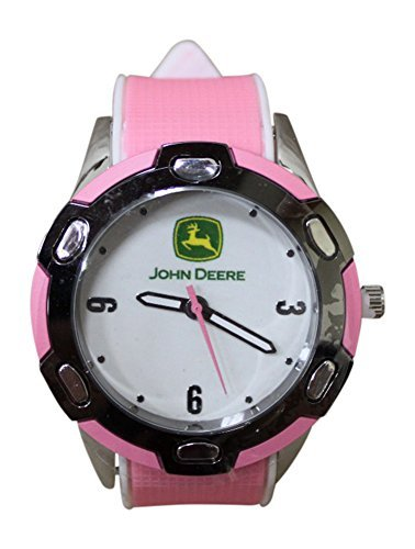 John Deere Logo Women`s Wrist Watch (John Deere Fossil Watch)