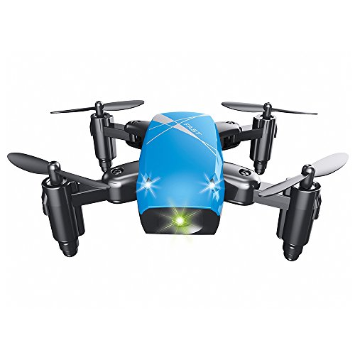 Micro Foldable RC Quadcopter RTF 2.4GHz 4CH 6-axis Gyro/Headless Mode/One Key Return