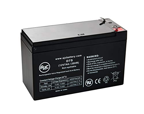 (FTTH Fiber PX12072F2HG Broadband 12V 7Ah Telecom Battery - This is an AJC Brand Replacement)