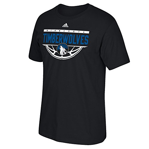 - NBA Minnesota Timberwolves Men's Balled Out Short Sleeve Tee, 4X, Black