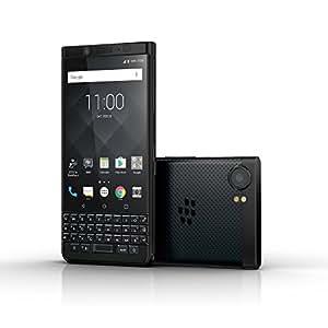 "BlackBerry KEYone 64GB (Limited Edition Black, QWERTY Keypad, Single-SIM) BBB100-2 - 4.7"" inch Factory Unlocked 4G/LTE Smartphone - International Version"