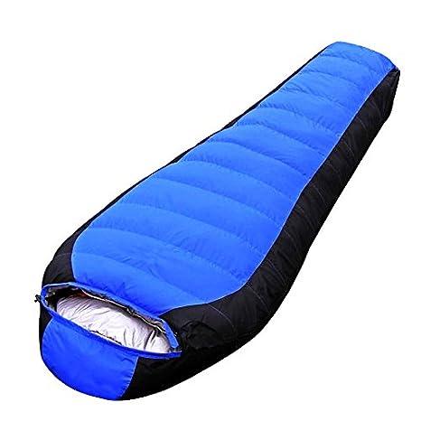Premium ligero saco de dormir bolsa para Camping, Senderismo y al aire libre. 3