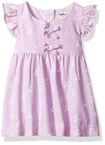 Hatley Baby Girls Mini Pinafore Dress, Sprinkled hearts, 3-6M (Hatley Heart)