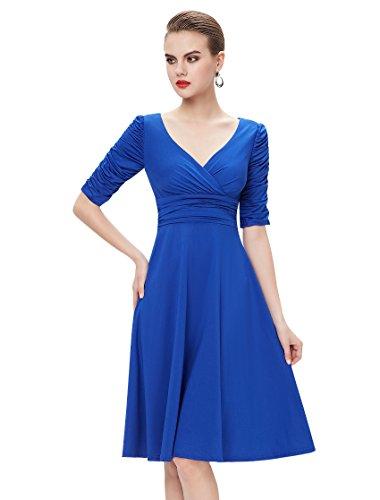 Sapphire Blue Dress: Amazon.com