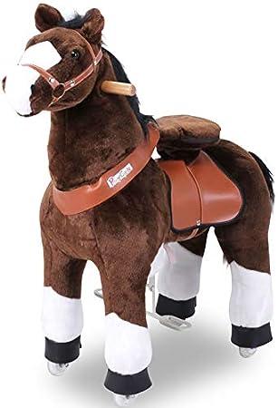 "ponycycle"" MISTER ED ""Caballo Marrón, Pony Sobre Ruedas Vagabundeo Caballito balancín y"