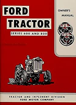 41S ULSCKzL._SY344_BO1204203200_ 1955 1957 ford tractor owner manual 620 630 640 650 60 820 840 850 1955 Ford Fairlane Wiring-Diagram at eliteediting.co