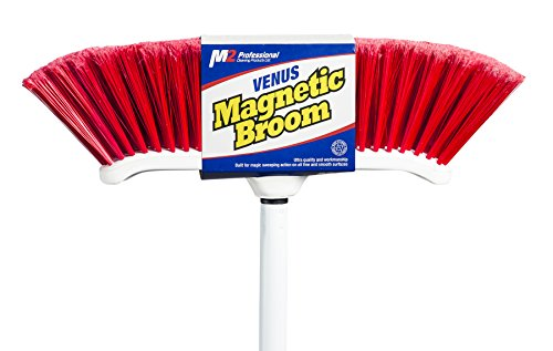 M2 Professional Large Indoor Curved Magnetic Broom (Pack of 4) by M2 Professional Cleaning Products Ltd.