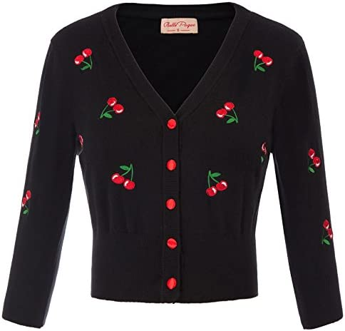Belle Poque Cherries Embroidery Cardigan product image