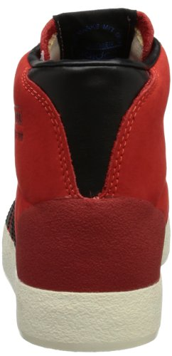 adidas Originals BASKET PROFI OG - Zapatilla alta de cuero hombre rojo - Rot (HIRERE/BLACK)