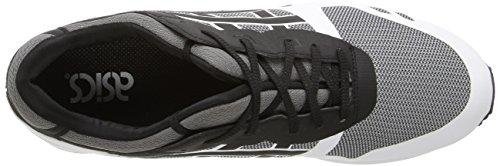 ASICS Men's Gel-Lyte Iii NS Fashion Sneaker, Grey/Black, 13 M US
