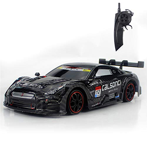 RC Car for GTR/Lexus 4WD Drift Racing Car Championship 2.4G Off Road Rockstar Radio Remote Control Vehicle Electronic Hobby Toys,Black (Best Rc Drift Cars For Sale)
