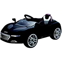 Remote Controlled Racing Audi Style Ride On Car, Black [RE228-B]