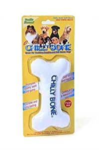 Multipet's 5.5-Inch Chilly Bone Dog Toy This Canvas Toy