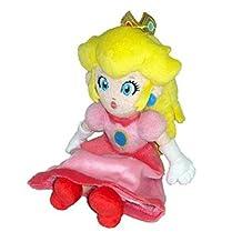 Little Buddy Super Mario Bros 8-Inch Peach Plush