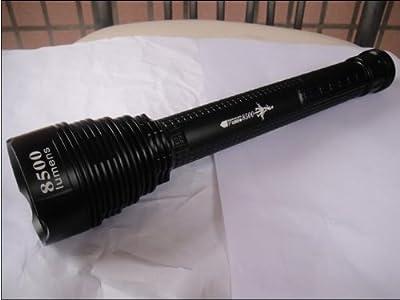 Worthtrust 8500 Lumen 7x Cree Xm-l T6 LED Bulb Flashlight Torch 3x18650 45w Lamp Light