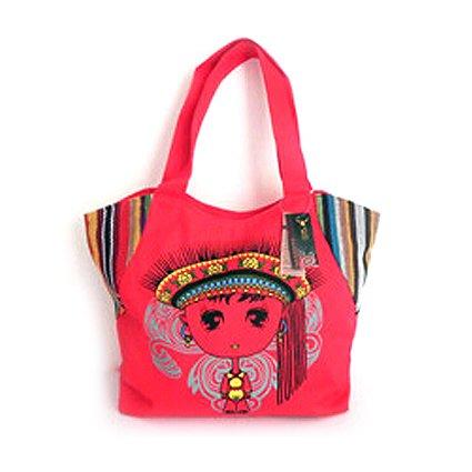 de de niña Marca Lona Estilo Casual marrón BiSSER Bolso diseño Yunnan Mujer marrón de para la xUx4g