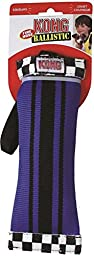 KONG Fire Hose Ballistic Sqwuggie Dog Toy, Large, Colors Vary