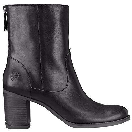 Atlantic Heights Mid Black Jet in Womens Boots Timberland azqyKgHwz