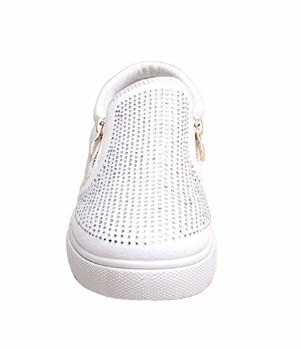 SheLikes , Damen Sneaker Weiß