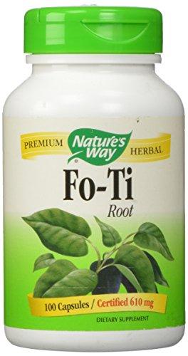 Fo-Ti Root Nature's Way 100 Caps