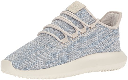 adidas Originals Men's Tubular Shadow Ck Fashion Sneakers, Clear Brown/Tactile Blue/Chalk White, 5.5 M US by adidas Originals