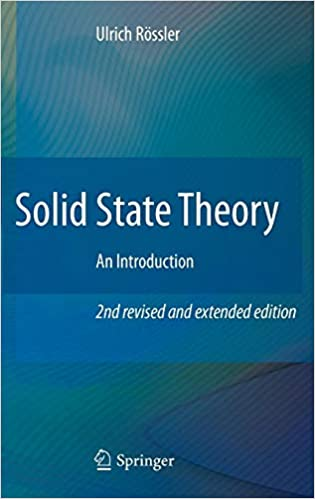 Solid State Theory: An Introduction