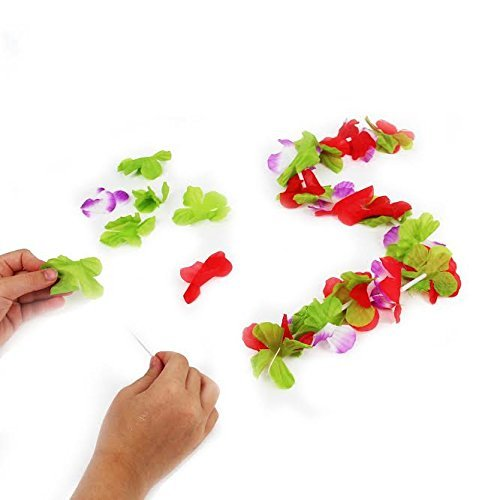 Dazzling Toys Flower Leis Kit, Make your own! 12 (Making Your Own Costume)