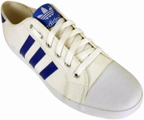 adidas Mens Adria White Blue Trainer