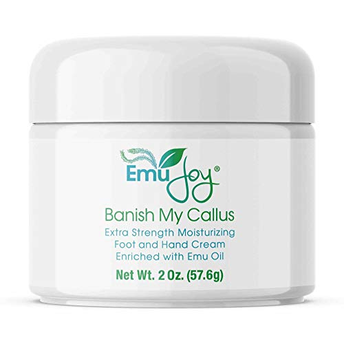 Banish My Callus Foot Callus Cream Hand Callus Remover - For Softening Rough Hard Dry Skin on Feet Hands Knees Elbows