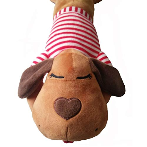The Dog Pillow Company Plush Head Pillow and Neck Support for Dogs, Buddy, 19 x 6 x 5 Inches (70836)