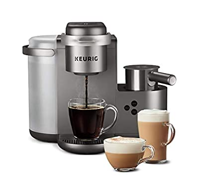 Keurig K-Cafe Coffee Maker, Single Serve K-Cup Pod Coffee, Latte and Cappuccino Maker by Keurig