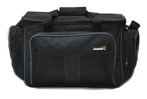 (foolsGold Large Insulated Fishing Tackle Holdall Bag - Black)