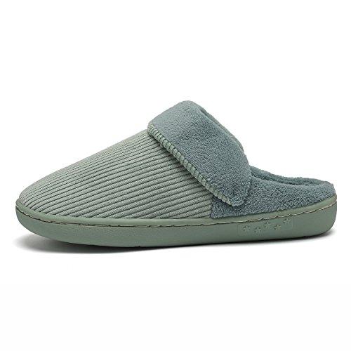 1b74036d4068 EASTSURE Indoor Plush Slippers Slip-on Memory Foam House Clog for Men Women  60%